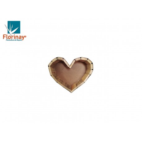 Corazón de Madera Mini